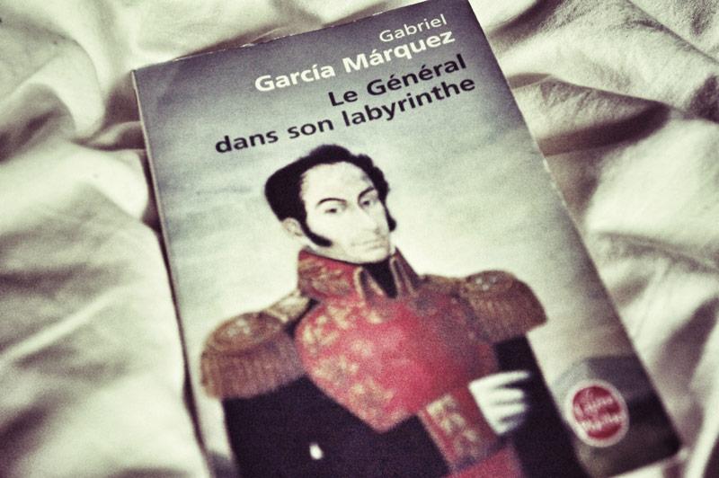 Le Général dans son labyrinthe de Gabriel Garcia Marquez