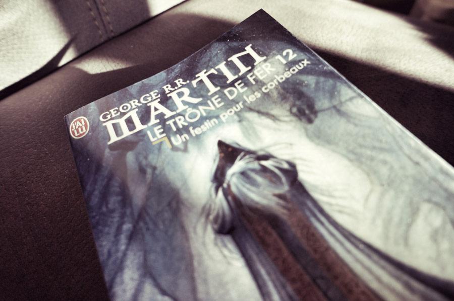 le trône de fer (tome12) / Un festin pour les corbeaux de George R.R. Martin