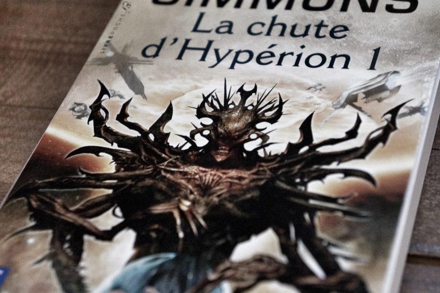 La chute d'Hypérion 1 de dan Simmons par Livrepoche.fr
