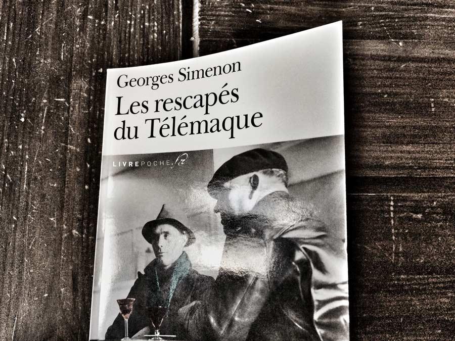 Les rescapés du Télématique de Georges Simenon par Livrepoche.fr