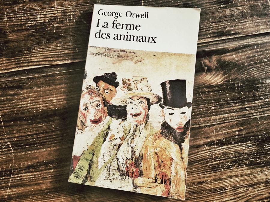La ferme des animaux de George Orwell par Livrepoche.fr