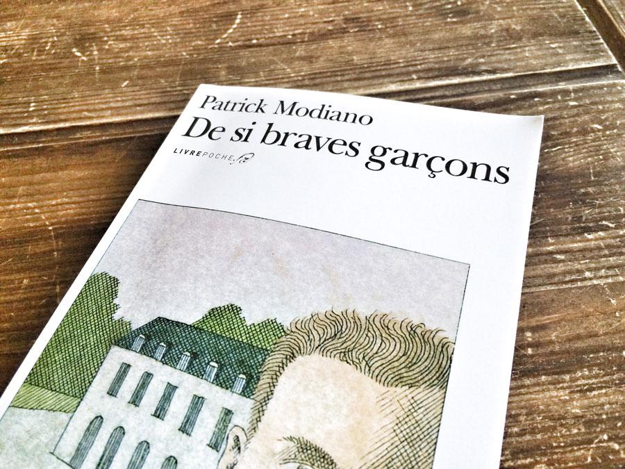 De si braves garçons de Patrick Modiano par Livrepoche.fr
