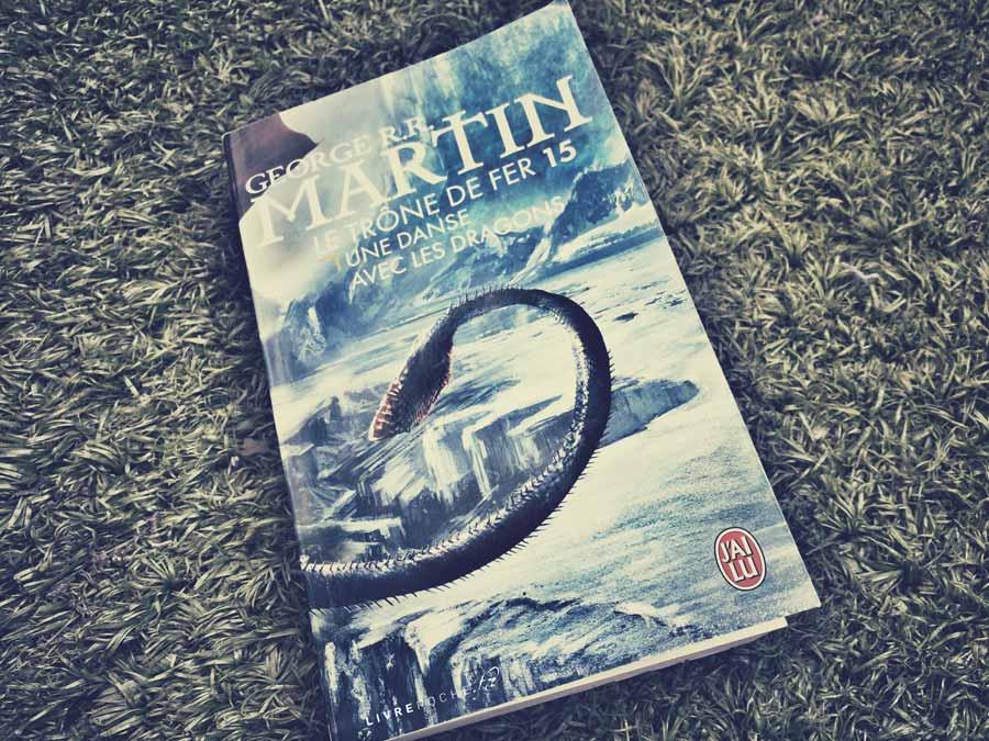 Le Trône de Fer (tome15), Une danse avec les dragons de George r.r.Martin par Livrepoche.fr