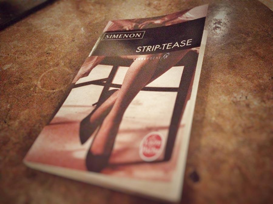 Strip-tease de Simenon par Livrepoche.fr