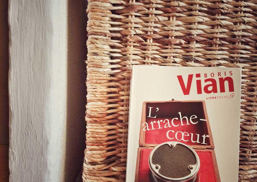 L'arrache-coeur de Boris Vian par Livrepoche.fr