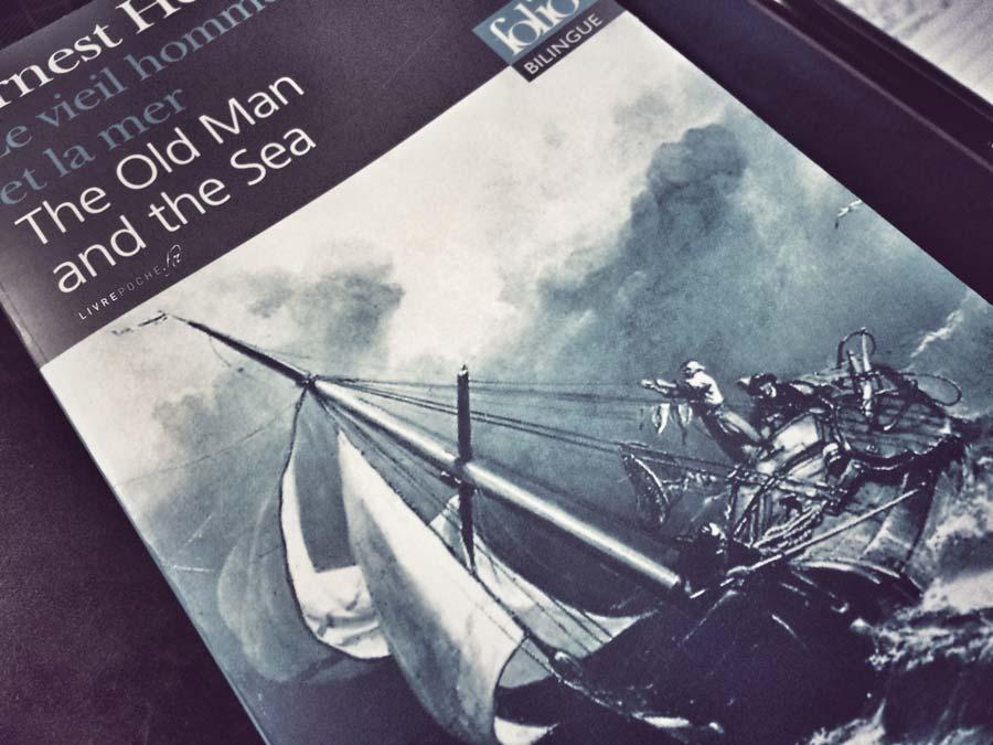 Le vieil homme et la mer de Ernest Hemingway par Livrepoche.fr