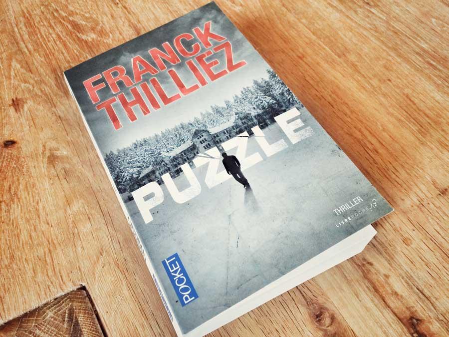 Puzzle de Franck Thilliez par Livrepoche.fr