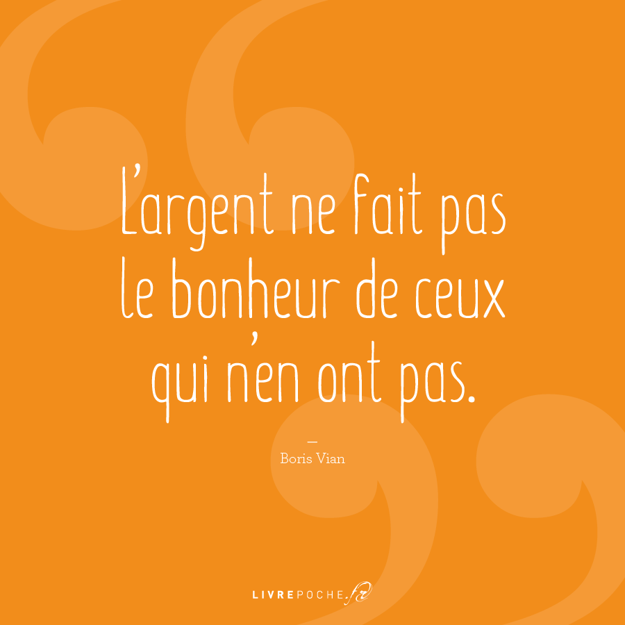 Citation Boris Vian par Livrepoche.fr