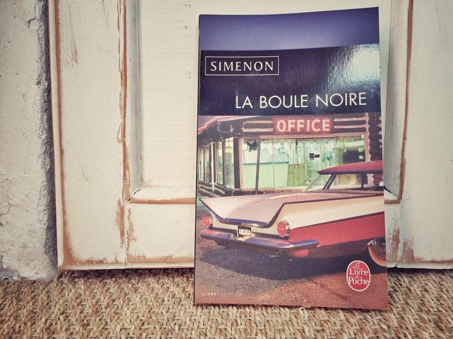 La boule noire de Simenon par Livrepoche.fr