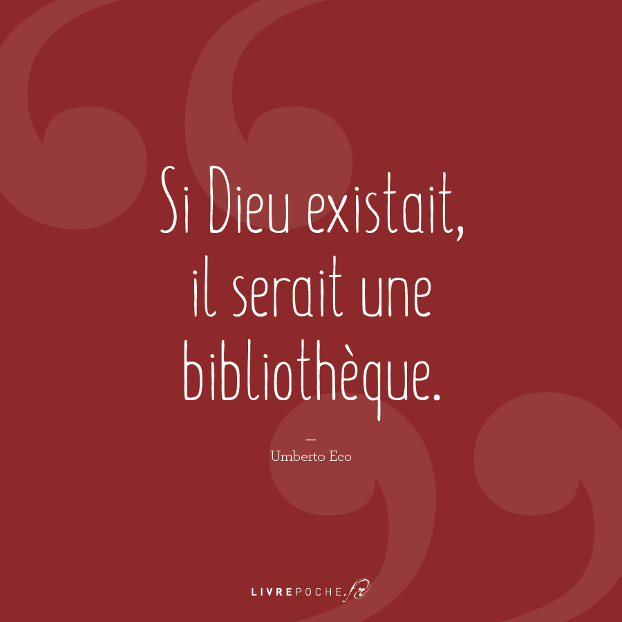 Citation Umberto Eco par Livrepoche.fr