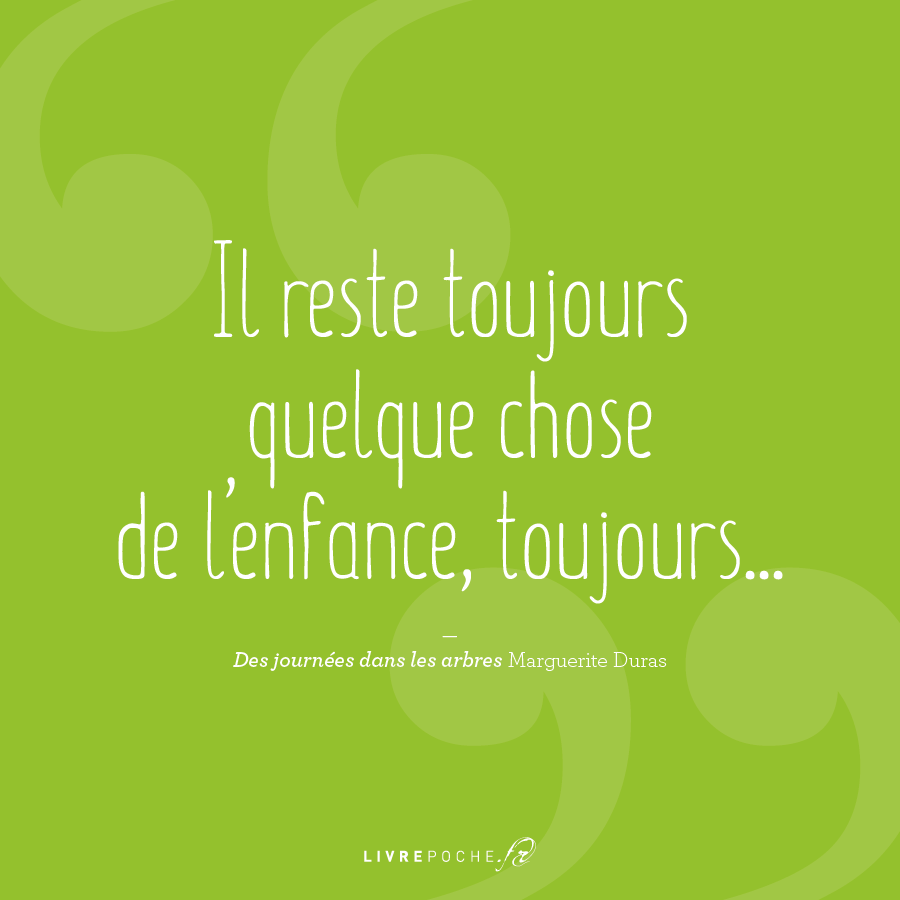 Citation Marguerite Duras par Livrepoche.fr