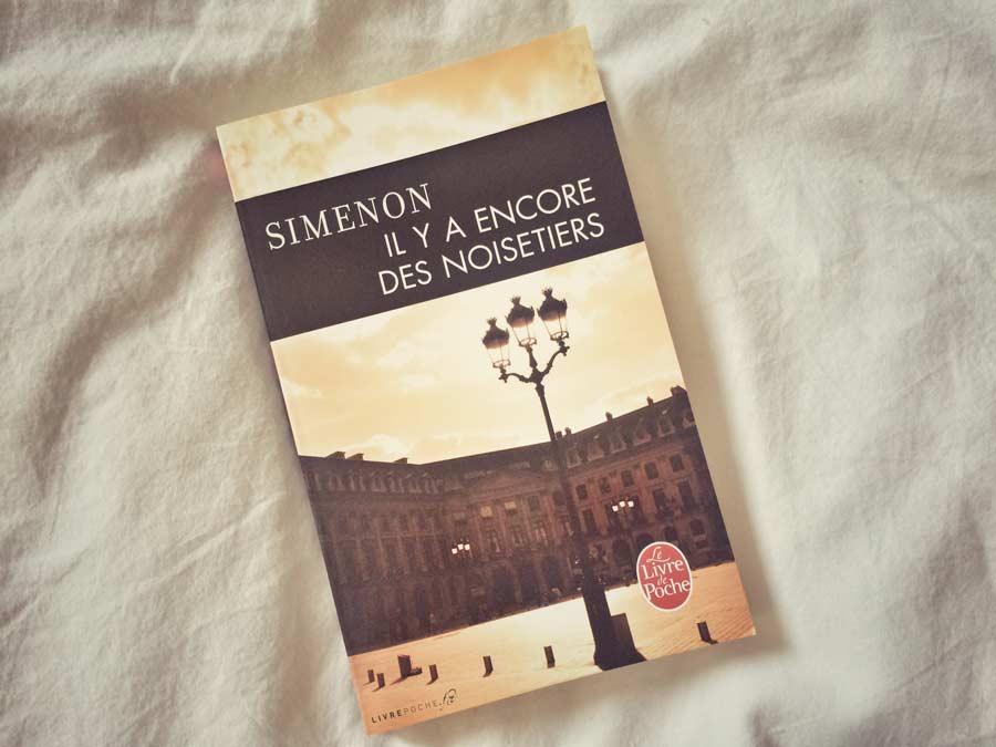 Il y a encore des noisetiers de Simenon par Livrepoche.fr