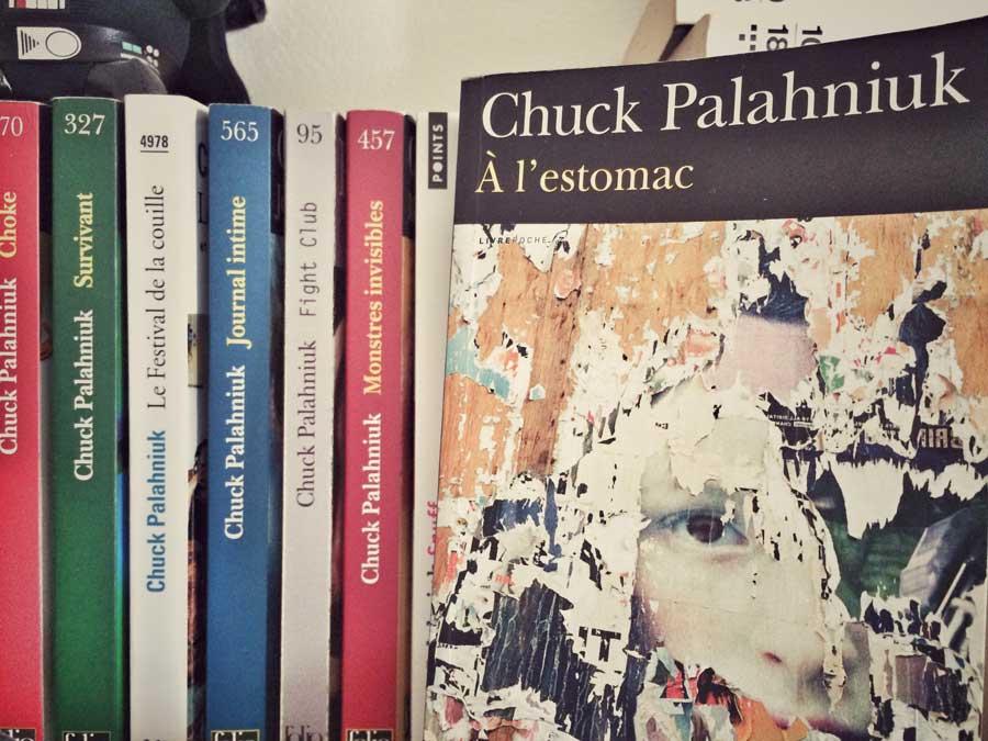 À l'estomac de Chuck Palahniuk par Livrepoche.fr