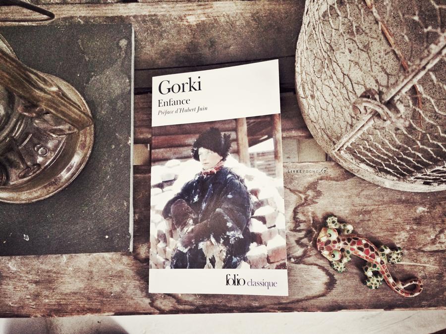 Enfance de Maxime Gorki par Livrepoche.fr