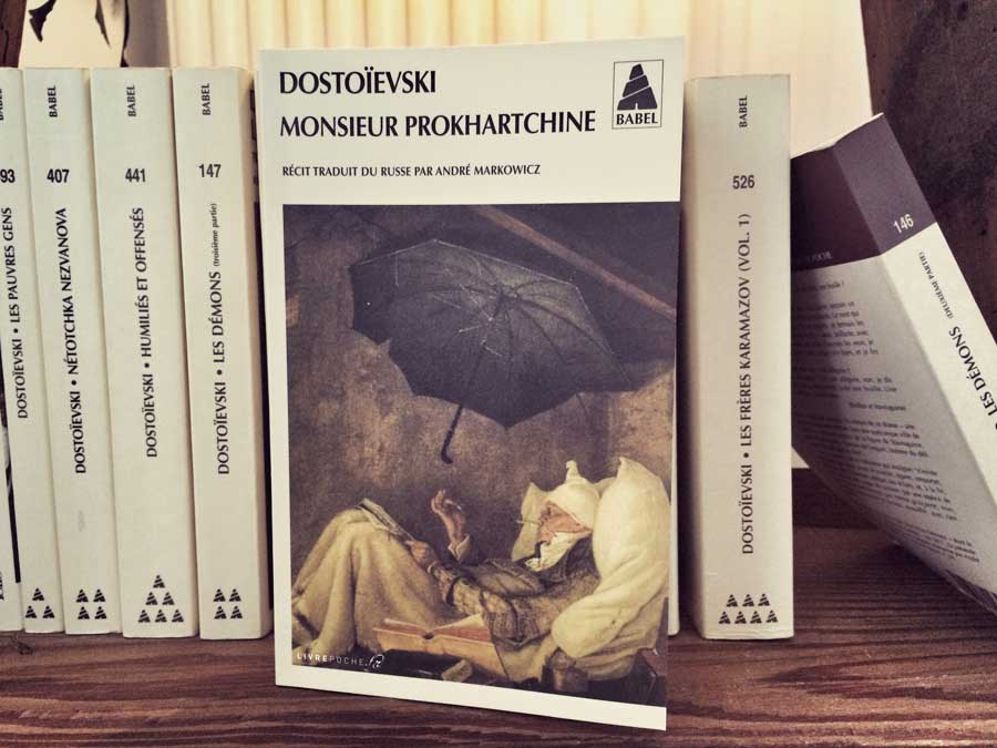 Monsieur Prokhartchine de Dostoïevski par Livrepoche.fr