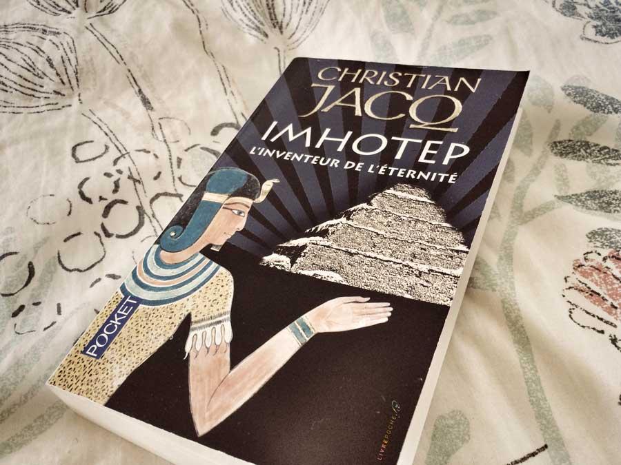 Imhotep, l'inventeur de l'éternité de Christian Jacq par Livrepoche.fr