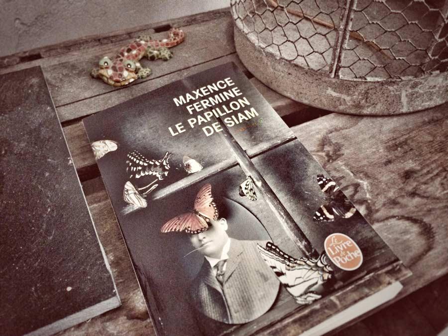 Le papillon de Siam de Maxence Fermine par Livrepoche.fr