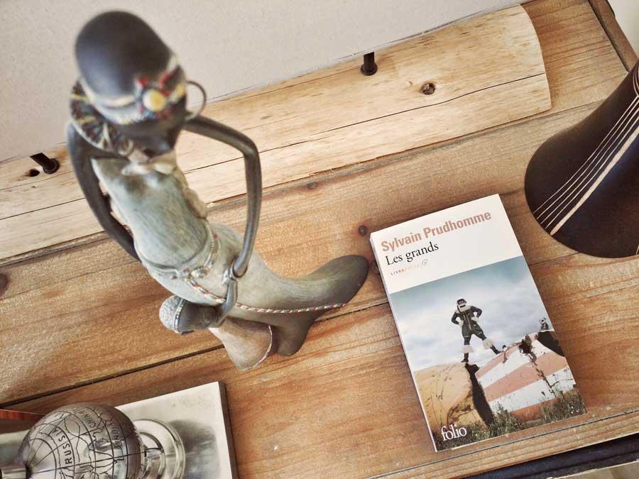 Les grands de Sylvain Prudhomme par Livrepoche.fr