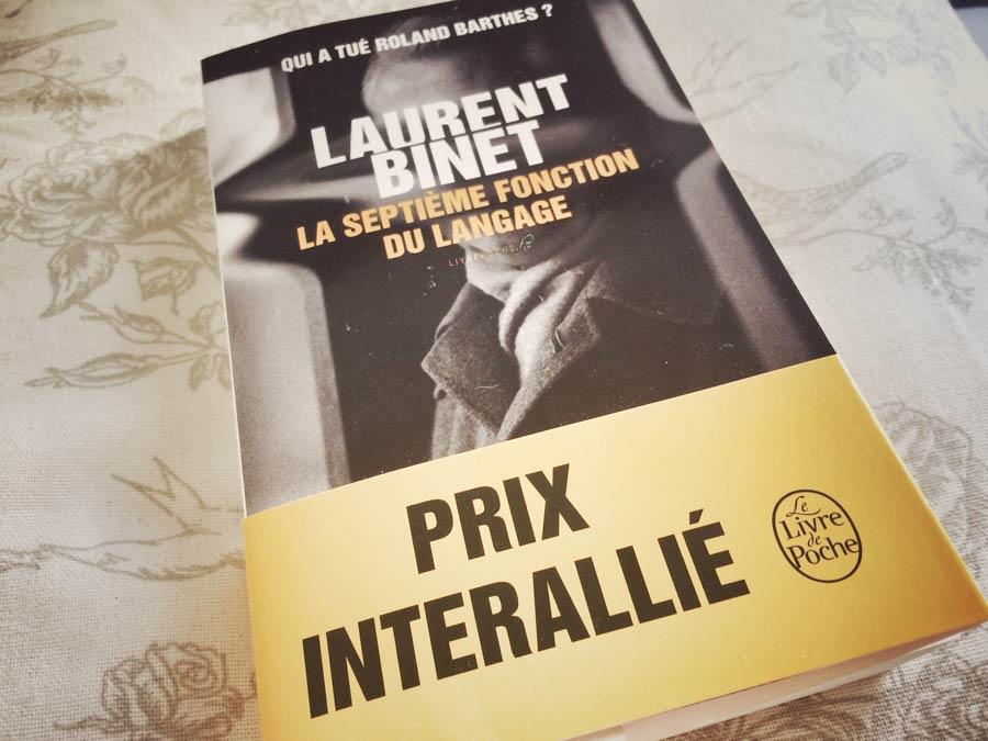 La septième fonction du langage de Laurent Binet par Livrepoche.fr