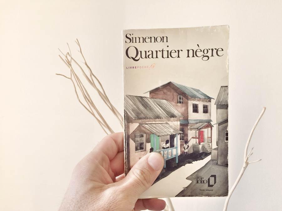 Quartier nègre de Simenon par Livrepoche.fr